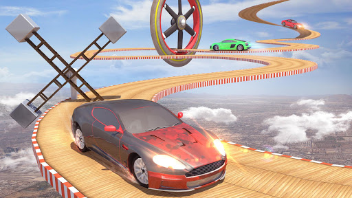 Mega Ramp Car Stunts Racing : Impossible Tracks 3D filehippodl screenshot 3