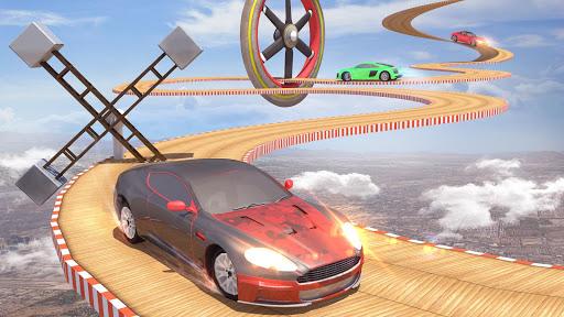 Mega Ramp Car Stunts Racing : Impossible Tracks 3D apklade screenshots 2