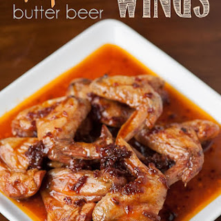 Chipotle Butter Beer Wings.