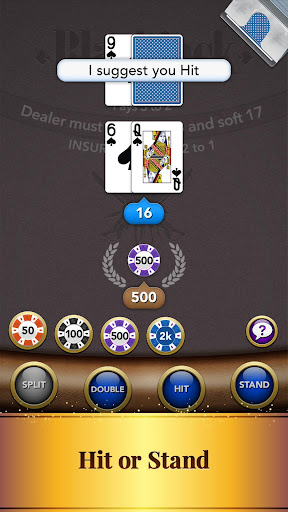 Blackjack Card Game screenshot 3