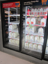 Photo: can't go to any store these days without picking up milk...