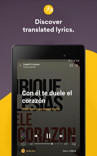 Musixmatch Lyrics screenshot 17