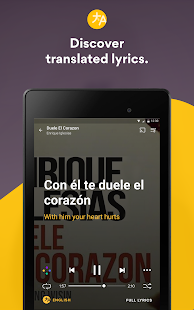 Musixmatch - Lyrics for your music- screenshot thumbnail