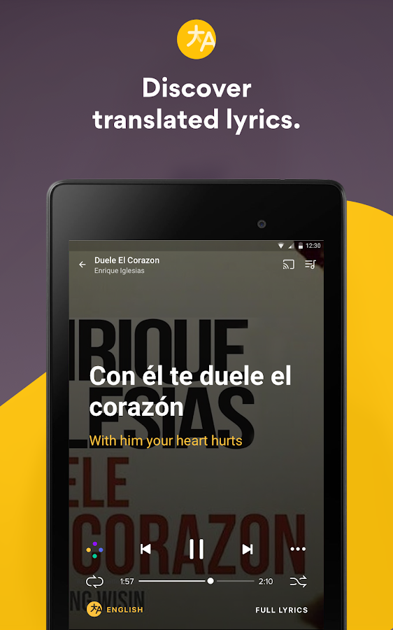 Musixmatch - Lyrics for your music- screenshot