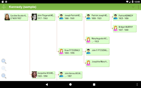 FamilyGTG - Family Tree- screenshot thumbnail