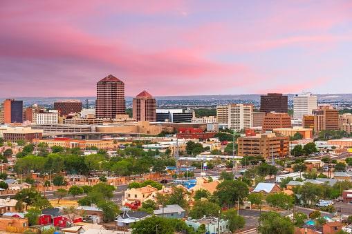 Albuquerque, NM Skyline