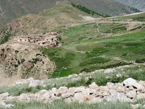 Photo: first village down from Deosai Plateau