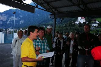 Photo: Infos vom Chef Adriano Gabaglio zum Anfang