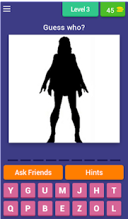 Character Shadow Quiz - náhled