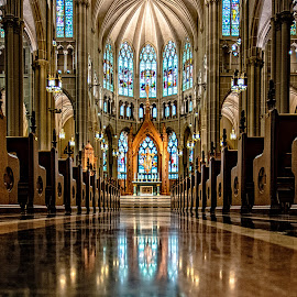 The Cathedral by Richard Michael Lingo - Buildings & Architecture Places of Worship ( buildings, church, worship, cathedral, architecture,  )