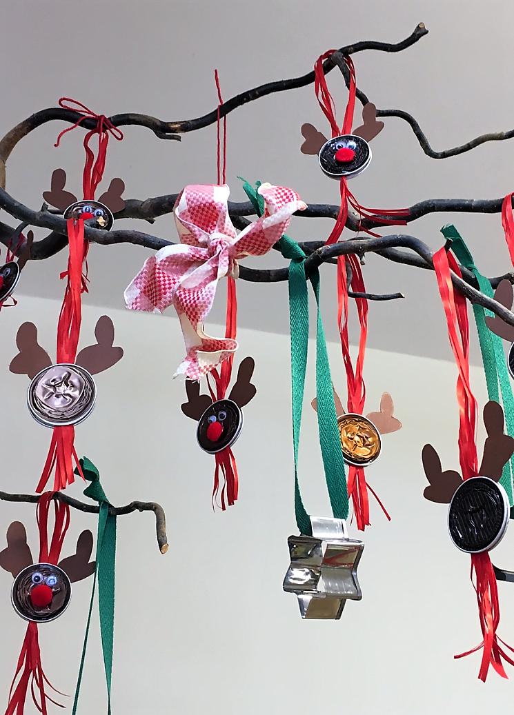 Weihnachtsfeier im HLW-Home