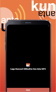 Lagu Humood AlKhudher Kun Anta MP3 Screenshot