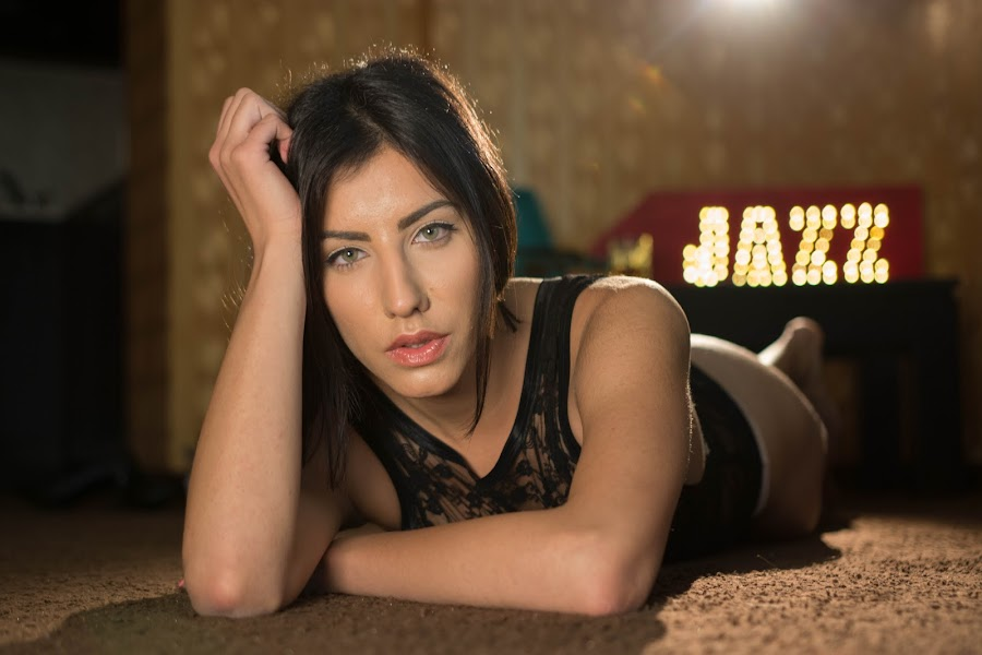 Listening jazz by Atanas Donev - People Portraits of Women ( best female portraiture,  )