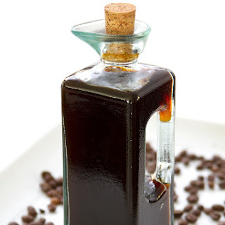 Homemade Coffee Liqueur.