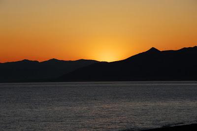 tramonto ligure di Gasparo Tony