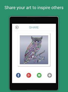 Colorify Free Coloring Book Screenshot Thumbnail