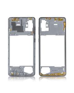 Galaxy A71 Middle Frame Silver