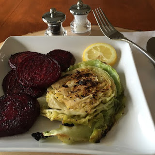 Grilled Beets & Cabbage Steaks