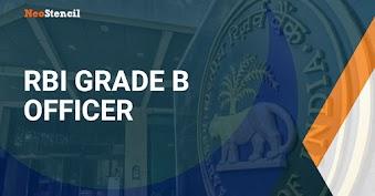 RBI Grade B Officer 2019