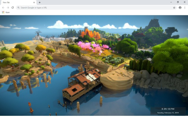 The Witness New Tab & Wallpapers Collection