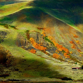 Shadows and light by Gaylord Mink - Landscapes Mountains & Hills ( light, hills, shadows, landscape )