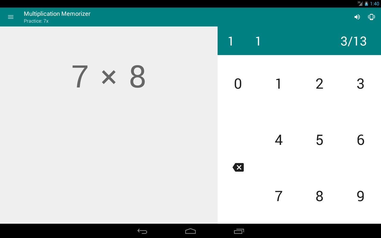 Multiplication memorizer android apps on google play multiplication memorizer screenshot gamestrikefo Image collections