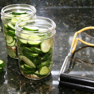 Dill Pickles, Hamburger Slices