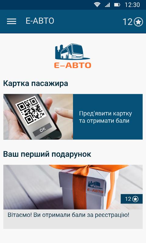 Е-АВТО– скриншот