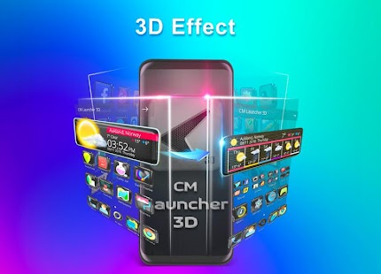 CM Launcher 3D - Theme, Wallpapers, Efficient Screenshot