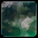 Dark Polygon Live Wallpaper icon