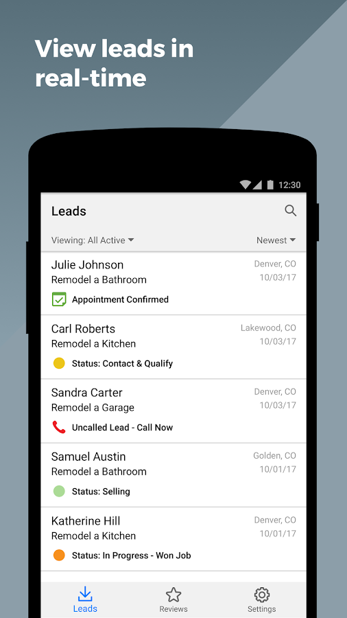 Homeadvisor pro android apps on google play for Home advisor