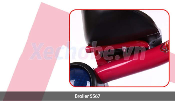 khung xe đạp 3 bánh em bé broller 5567