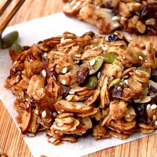 Oat-Nut-Cherry-Chip Granola Breakfast Cookies