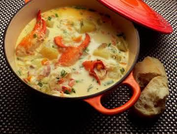 Seduction Lobster Corn Chowder