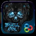 Skull Fire Go Launcher Theme icon
