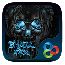 Skull Fire Go Launcher Theme v v1.0