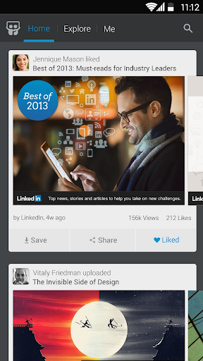 LinkedIn SlideShare 1.6.8 screenshots 1