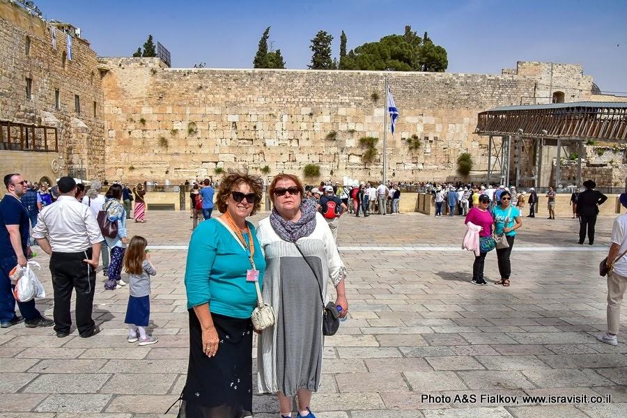 У Стены Плача. Старый город Иерусалим. Еврейский квартал. Индивидуальная экскурсия по Иерусалиму с частным гидом. Гид Светлана Фиалкова.