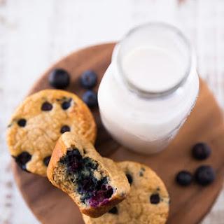 Blueberry Banana Power Muffins.