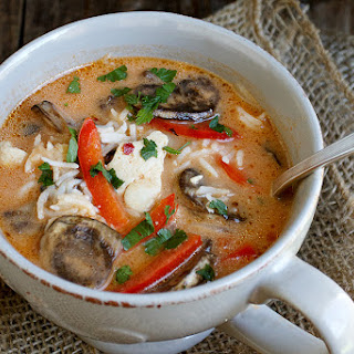 Wicked Thai Chicken Soup.