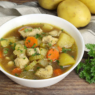 Easy Chicken Vegetable Soup.