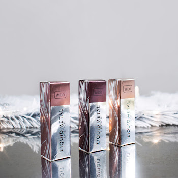 Metaliczne pomadki Wibo | Wibo Liquid Metal Lipstick | Gentle Princess, Powerfull Women, Burgundy Wine