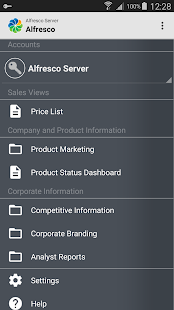 Alfresco- screenshot thumbnail