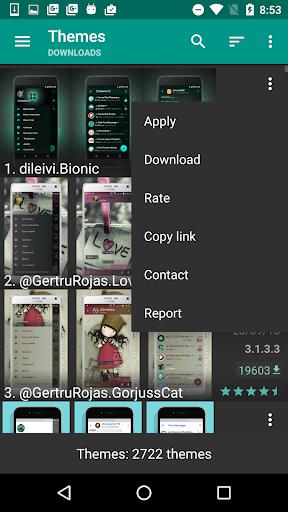 Themes for Plus Messenger 1.4.7 screenshots 4