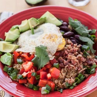 Quinoa and Egg Breakfast Bowl.