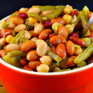 Easy Bean Salad (Vegan).