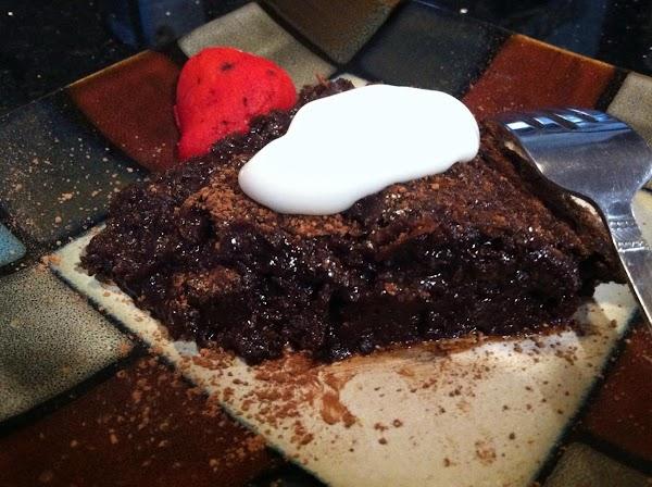 No Flour In This Chocolatey Fudgy Cake! Recipe