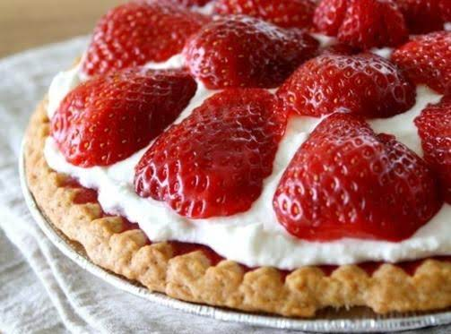 Strawberry Pie Recipe 1952