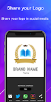 screenshot of Logo maker 2020 3D logo designer, Logo Creator app