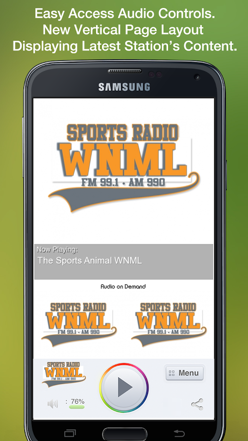 The Sports Animal WNML- screenshot